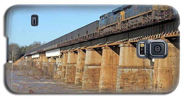 Csx Coal Train On A Bridge Galaxy S5 Case