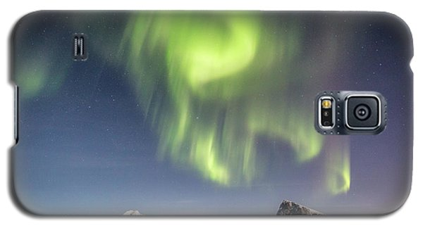 Curtains Of Light Galaxy S5 Case