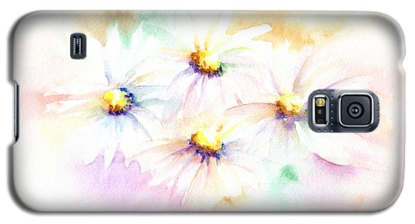 Galaxy S5 Case featuring the mixed media Daisy by Elizabeth Lock
