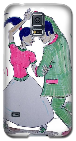 Dance To The Beat Galaxy S5 Case