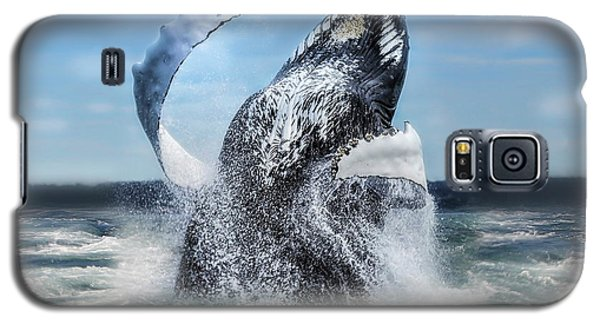 Dances With Whales Galaxy S5 Case