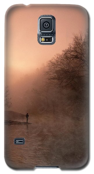 Dawn On The Lower Mountain Fork River Galaxy S5 Case