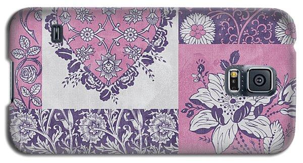 Deco Heart Pink Galaxy S5 Case