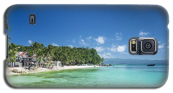 Diniwid Beach In Tropical Paradise Boracay Philippines Galaxy S5 Case