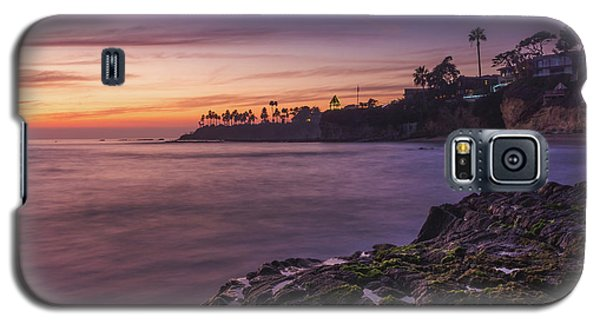 Diver's Cove Sunset Galaxy S5 Case