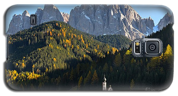 Dolomites Mountain Church Galaxy S5 Case