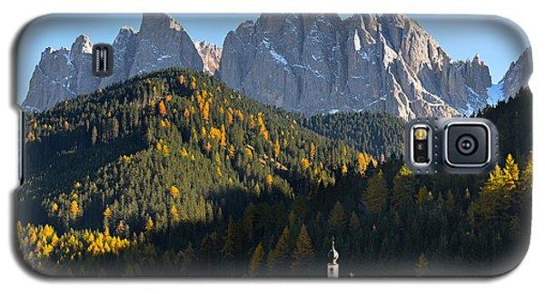 Dolomites Mountain Church Galaxy S5 Case