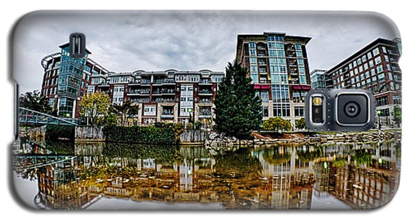 Downtown Of Greenville South Carolina Around Falls Park Galaxy S5 Case