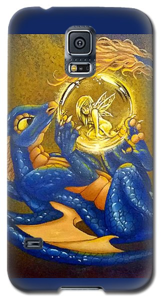 Dragon And Captured Fairy Galaxy S5 Case