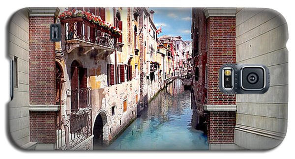 Featured Images Galaxy S5 Case - Dreaming Of Venice Panorama by Az Jackson