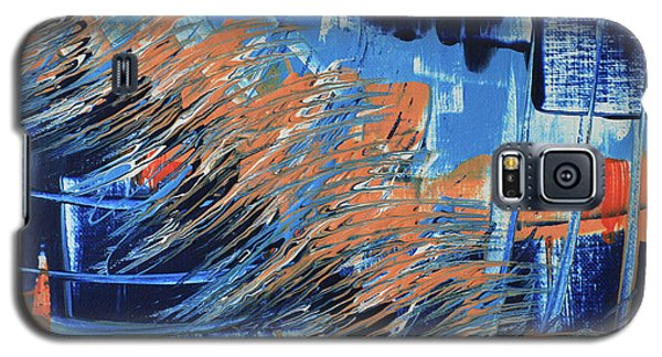 Galaxy S5 Case featuring the painting Dreaming Sunshine  by Cathy Beharriell