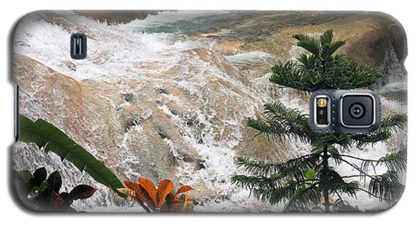 Dunns River Falls Galaxy S5 Case by Rosalie Scanlon