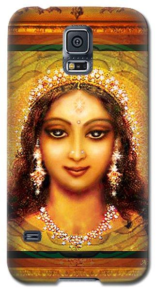 Durga In The Sri Yantra  Galaxy S5 Case by Ananda Vdovic