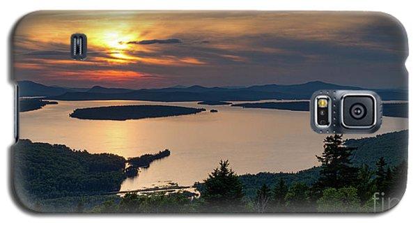 Dusk, Mooselookmeguntic Lake, Rangeley, Maine  -63362-63364 Galaxy S5 Case