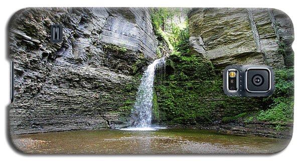 Eagle Cliff Falls In Ny Galaxy S5 Case