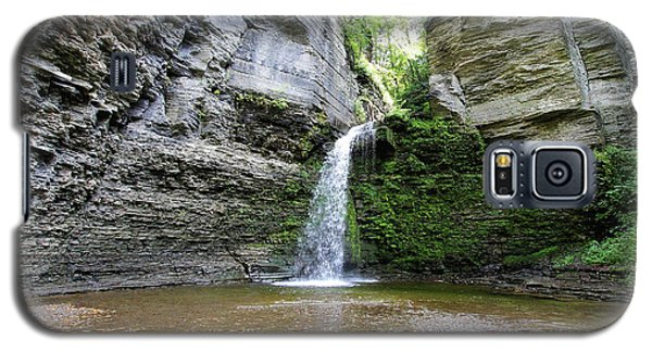 Eagle Cliff Falls In Ny Galaxy S5 Case