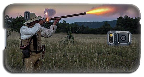 Early 1800's Flintlock Muzzleloader Blast Galaxy S5 Case