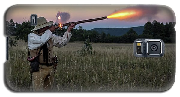 Early 1800's Flintlock Muzzleloader Blast Galaxy S5 Case