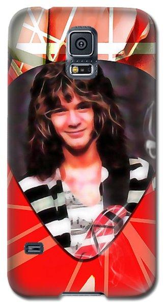 Eddie Van Halen Art Galaxy S5 Case by Marvin Blaine