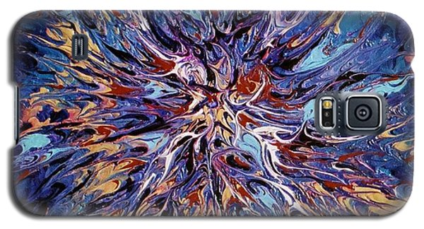 Galaxy S5 Case featuring the painting Edge Of The Universe by Pat Purdy