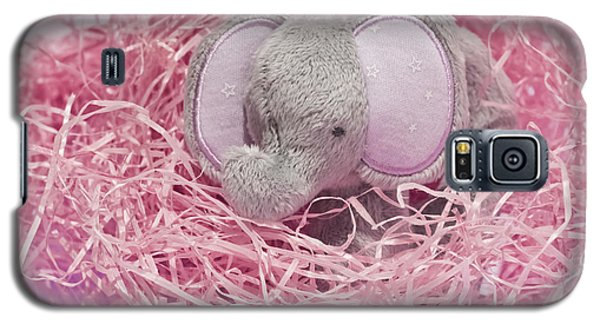 Elephant For Charity Pink Galaxy S5 Case by Terri Waters