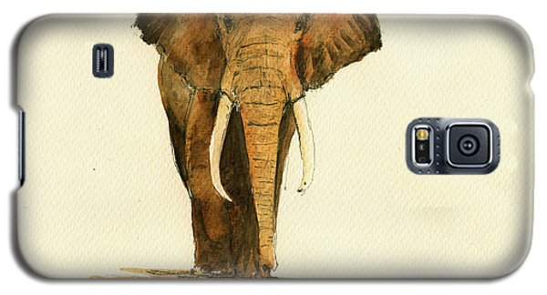 Elephant Watercolor Galaxy S5 Case