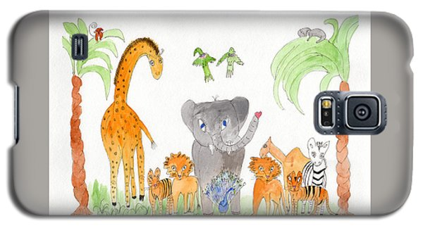 Elephoot And Friends 2 Galaxy S5 Case