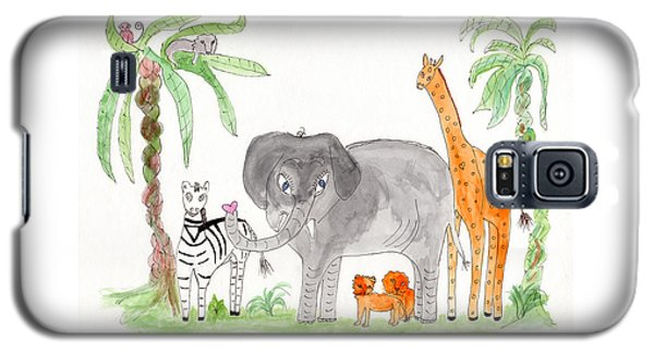 Elephoot And Friends Galaxy S5 Case