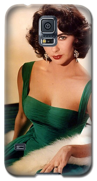 Elizabeth Taylor Galaxy S5 Case by American School