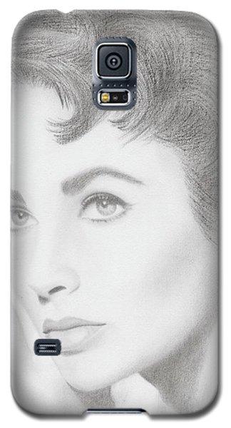 Elizabeth Taylor Galaxy S5 Case by Eliza Lo