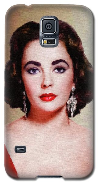Elizabeth Taylor Hollywood Actress Galaxy S5 Case