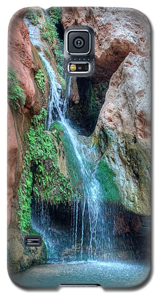 Elves Chasm Galaxy S5 Case by Britt Runyon