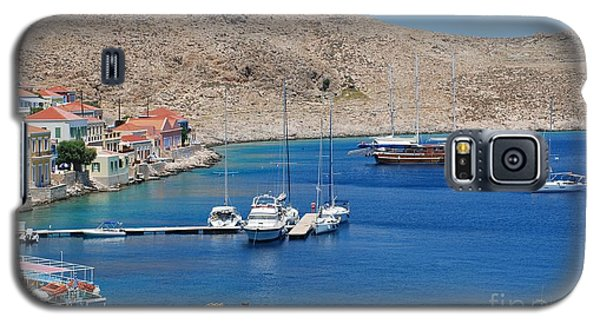 Emborio Harbour On Halki Galaxy S5 Case