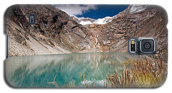 Emerald Green Mountain Lake At 4500m Galaxy S5 Case