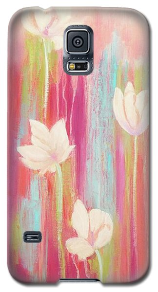 Galaxy S5 Case featuring the painting Simplicity 2 by Irene Hurdle