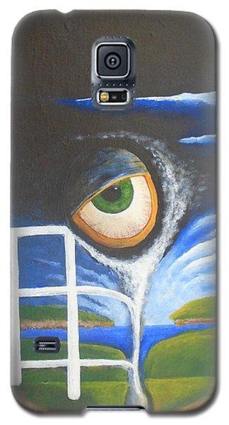 Eyefence Galaxy S5 Case by Steve  Hester