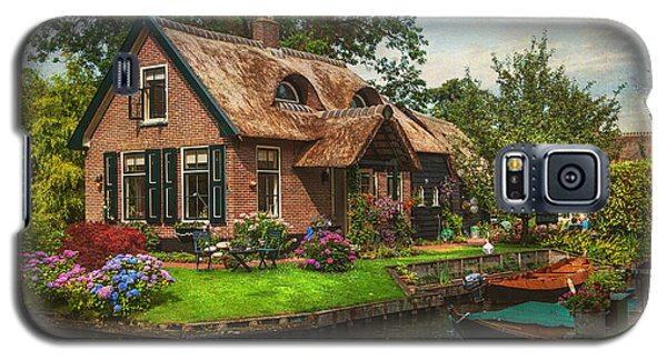 Fairytale House. Giethoorn. Venice Of The North Galaxy S5 Case