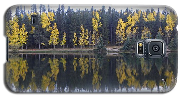 Potty Pond Reflection - Fall Colors Divide Co Galaxy S5 Case