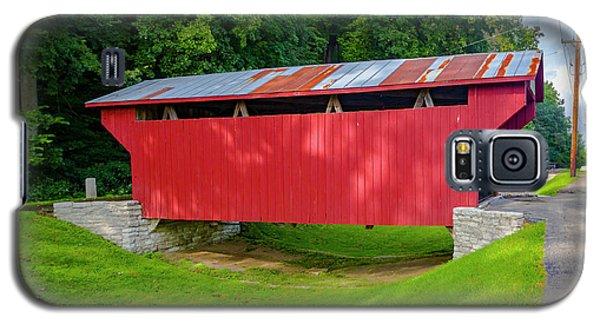 Feedwire Covered Bridge - Carillon Park Dayton Ohio Galaxy S5 Case