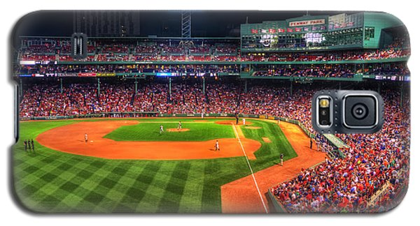 Fenway Park At Night - Boston Galaxy S5 Case by Joann Vitali