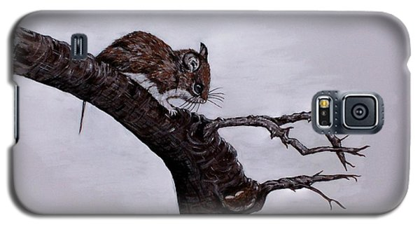 Galaxy S5 Case featuring the painting Field Mouse by Judy Kirouac