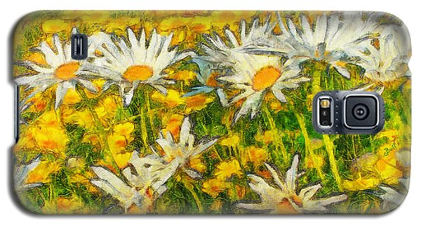 Field Of Daisies Galaxy S5 Case