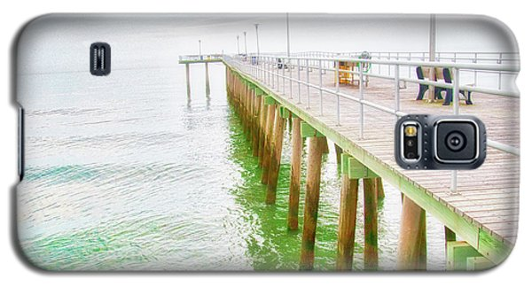 Fishing Pier, Margate, New Jersey Galaxy S5 Case
