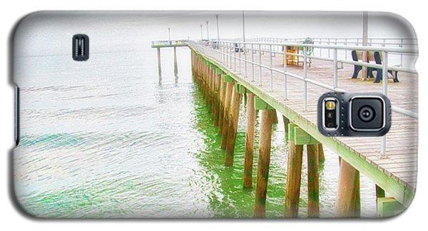 Fishing Pier, Margate, New Jersey Galaxy S5 Case