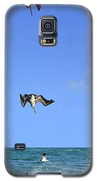Fishing With Friend Galaxy S5 Case