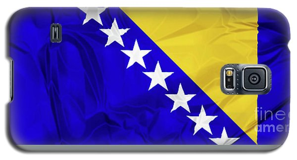 Flag Of Bosnia Galaxy S5 Case