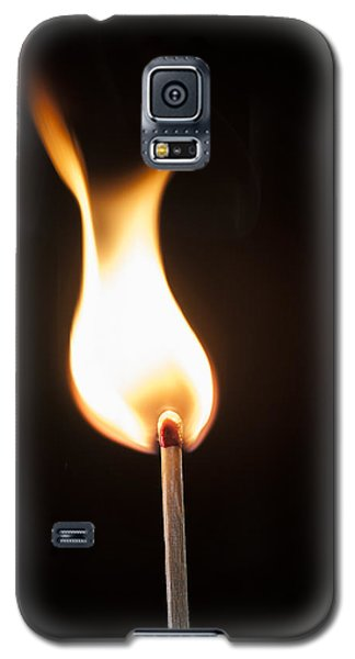 Galaxy S5 Case featuring the photograph Flame by Tyson and Kathy Smith