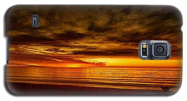Flaming Sunset Galaxy S5 Case by Joseph Hollingsworth