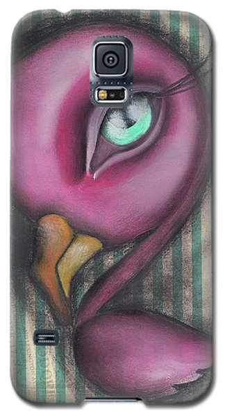 Flamingo Galaxy S5 Case by Abril Andrade Griffith