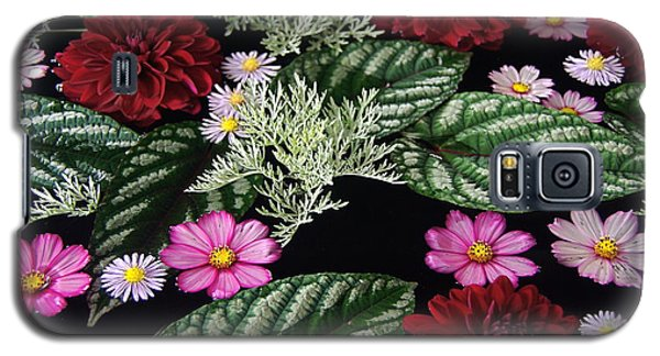 Galaxy S5 Case featuring the photograph Floating Flower Bouquet by Byron Varvarigos